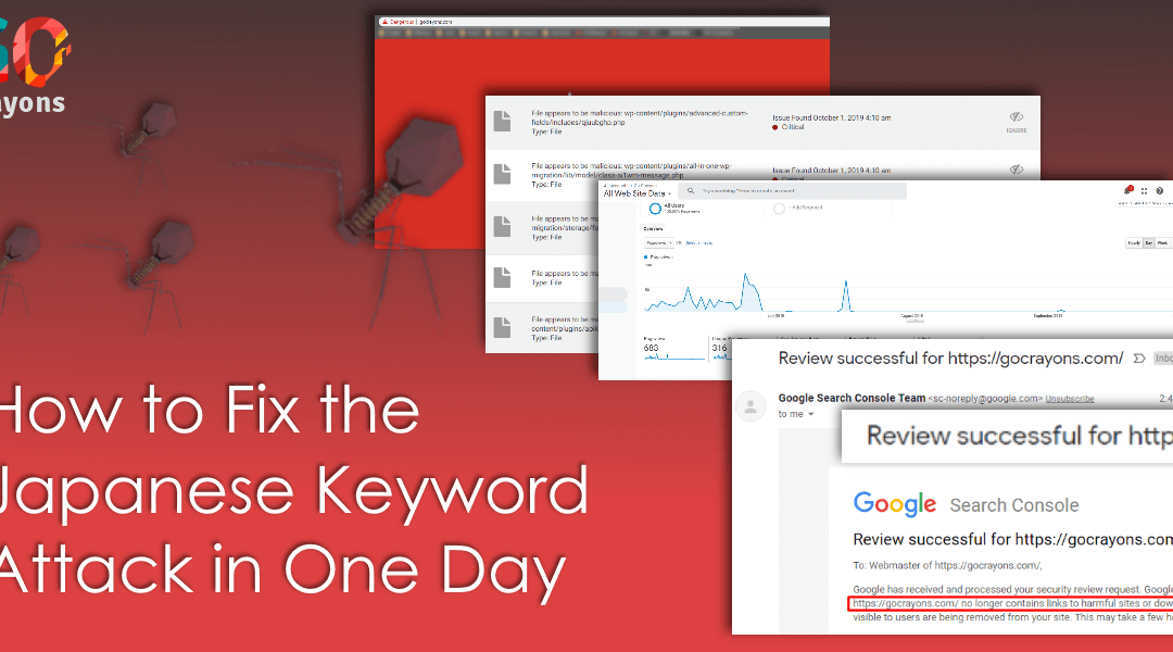 How to Fix the Japanese Keyword Attack in One Day