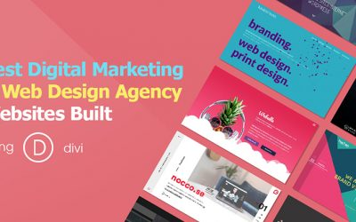 Best Digital Marketing and Web Design Agency Websites Built Using DIVI – 2018